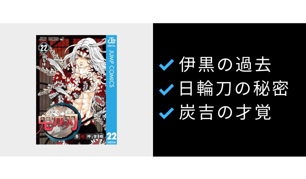 鬼滅の刃【22巻】レビュー|縁壱でゲシュタルト崩壊した